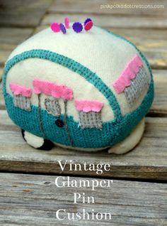 Cute vintage glamper