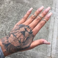 The Lion. A strong animal. Comment and tag your friends!  @tattooinkspo