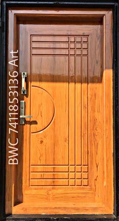 Wooden Door Design, Wooden Doors, Indian Main Door Designs, Single Doors, Door Locks, Entrance, Catalog, Home, Entryway