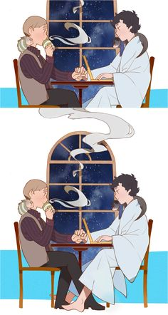 For all you Johnlockers out there! Daily life of SHERLOCK and JOHN. by kiyoic.deviantart.com on @deviantART
