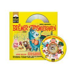 Boek & CD: De Bremer Stadsmuzikanten (uitg. Het Geluidshuis) White Out, Logo, Seeds, Logos, Environmental Print