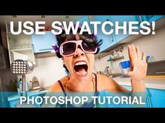 Photoshop: The Swatches Panel | IceflowStudios