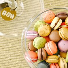 colorful little macarons