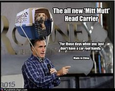 Mitt's Mutt Carrier