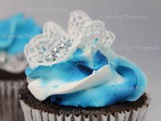 Cupcakes Rendas de Açúcar
