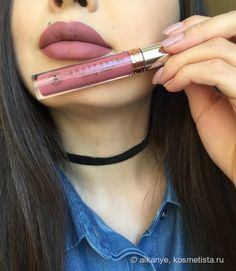 . Anastasia Beverly Hills liquid lipstick / Dusty rose