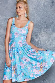 Bottom Of The Garden Pocket Midi Dress - 48HR ($120AUD) by BlackMilk Clothing