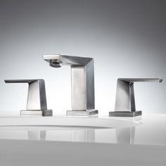 Crisscross Widespread Bathroom Faucet - Lever Handles - Bathroom Sink Faucets - Bathroom
