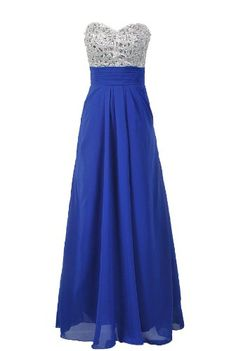 BESTSELLER! Moonar Chiffon Strapless Sweetheart A Line Prom Formal Gown Party Bridesmaid Wedding Dress $69.96