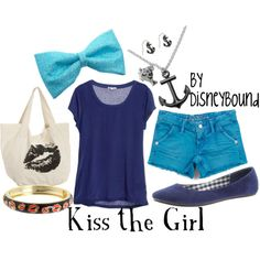 Disney Clothes Little Mermaid! Really cute! I would totally wear this!