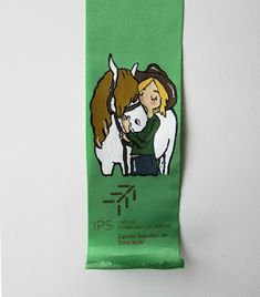Artistic Sketches: Horse with a girl (Acrylic and textile ink)