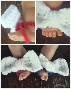 Bow Barefoot Sandals