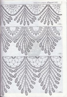 "Photo from album ""Дуплет on Yandex. Crochet Squares, Crochet Borders, Crochet Stitches Patterns, Doily Patterns, Crochet Trim, Crochet Motif, Crochet Shawl, Irish Crochet, Crochet Doilies"