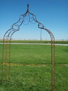 $300 Wrought Iron Gothic Arch - Wonderful Wedding Arbor