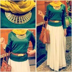 Hijab fashion inspiration mode 2015 - Hijabook