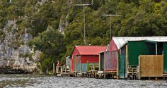 Related image Boat Shed, Sheds, New Zealand, Houses, Cabin, House Styles, Image, Home Decor, Homes