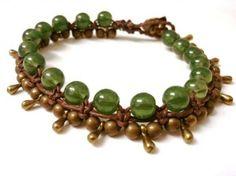 Pulsera thai verde jade