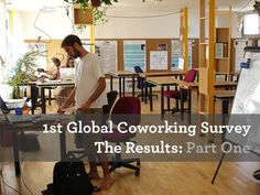 Coworkers like their workspace to be small and interactive, flexible on opening hours and close to restaurants. Most work daily and prefer 24-hour access. A coworking visa with access to coworking spaces worldwide is of high interest for them. And the majority don't care much about the recreational activities on offer. Those are some of the findings of the first global coworking survey, which is being released over the next few days on Deskmag.