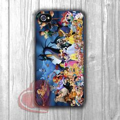 Disney All characters funny -d4n for iPhone 4/4S/5/5S/5C/6/6+,Samsung S3/S4/S5/S6 Regular/S6 Edge,Samsung Note 3/4