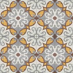 Lucifer C14-24-26-9 - moroccan cement tile