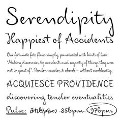 Cursive Handwriting Models The best worksheets image collection Serendipity Tattoo, Serendipity Quotes, Font Shop, Cursive Handwriting, Sayings And Phrases, Tattoo On, Types Of Lettering, Favorite Words, Meaningful Words