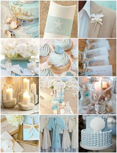 Top 10 Hot Beach Wedding Color Schemes and Ideas | 21st - Bridal World - Wedding Lists and Trends