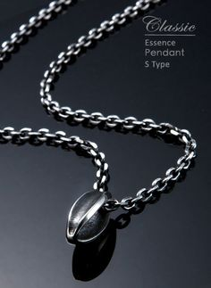 Essence Pendant S Type| Abnormal classic collection  Silver Accessories http://www.pinkoi.com/product/13ewcllb