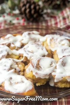 These Amazing Low Carb Cinnamon Rolls are made with Nut Free Fathead Dough! They're Grain Free, Gluten Free, Sugar-Free, Keto and the texture is so much like traditional rolls you will shock your family and even yourself!