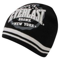 Pánska zimná čiapka Everlast 7,50 € http://www.outletmania.sk/rukavice-ciapky-a-sale/90467603-everlast-logo-beanie.html