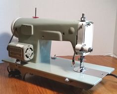 Note the 1.2 Amp motor on this Japanese Kenmore 148.296 vintage sewing machine.