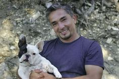 Cesar Milan with frenchie