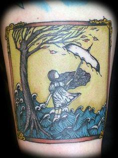 "lydia ""lluminate"" cd cover kyle berg @ dark water tattoosbridgeview, il"