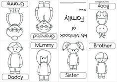 7 Nejlepsich Obrazku Z Nastenky Family Vocab Learning English