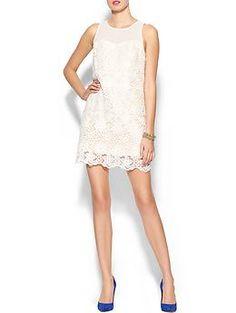 Skies Are Blue Crochet Mini Dress | Piperlime supercute