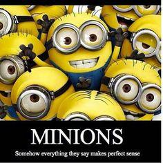 Despicable Me Movie, Movie minions. I have a minion and I love her Humor Minion, Minions Cartoon, Cute Minions, My Minion, Minions Minions, Minion Talk, Minions 2014, Minion Party, Minions Quotes