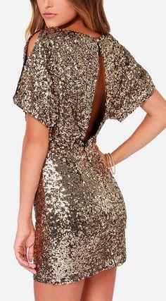 Glitter dress #nye