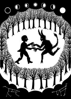 Artist Andrea Dezsö's Enchanting Black-and-White Illustrations for the Little-Known Original Edition of the Brothers Grimm Fairy Tales | Brain Pickings