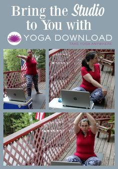 Love doing yoga but want to be home when doing it with lots of variety? YogaDownload provides around 1000 options for streaming and hundreds for download. #YogaDownload AD via @LauraOinAK