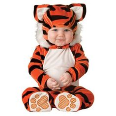 Tiger Tot Costume - Baby/Toddler #Halloween