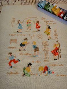 Домик у озера: Veronique Enginger ''Souvenirs d'enfance au point de croix''