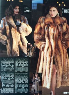 Fabulous Fox, Vintage Fashion, Women's Fashion, Vintage Fur, Fur Coats, Red Fox, Mink Fur, Fox Fur, Fur Jacket