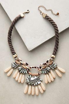 Desideria Bib Necklace #anthropologie