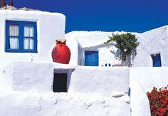 Σικινος ~ Sikinos source: views of greece on TBoH Filing System, Beautiful Places, Island, Country, House Styles, Outdoor, Landscapes, Homeland, Deep Blue