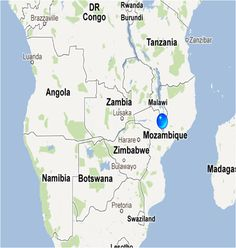 In early June, I flew to Malawi to do cleft lip and palate surgery with Operation of Hope, a charity based in LA.  This was my first trip to Africa, so I was excited to see what it was like.  The blue dot is where we went to-  Blantyre, Malawi, the economic powerhouse of Malawi.