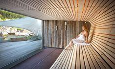 Wildbad Chalet Interior, Arch Interior, Mini Sauna, Art Wall Kids, Art Kids, Costa Rica, Spa Treatment Room, Rooftop Design, Sauna Design