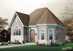 Affordable Split Level House Plan - 21530DR | Southern, Canadian, Metric, Narrow Lot, 1st Floor Master Suite, CAD Available, PDF, Split Level | Architectural Designs