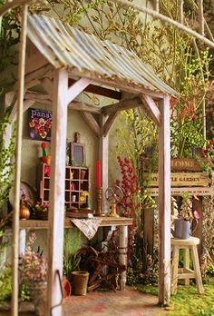 Imagen 8 - diversión jardinería de imagen - COCO de tiempo casa de muñecas en miniatura - Yahoo! Blog