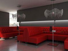 tapicerownaa zabudowa restauracji