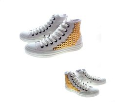 """""""Studded Converse by CUSTOMDUO on ETSY"""" by juin120 on Polyvore"""