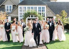 More May flowers all around in this recent The Oregon Golf Club wedding!